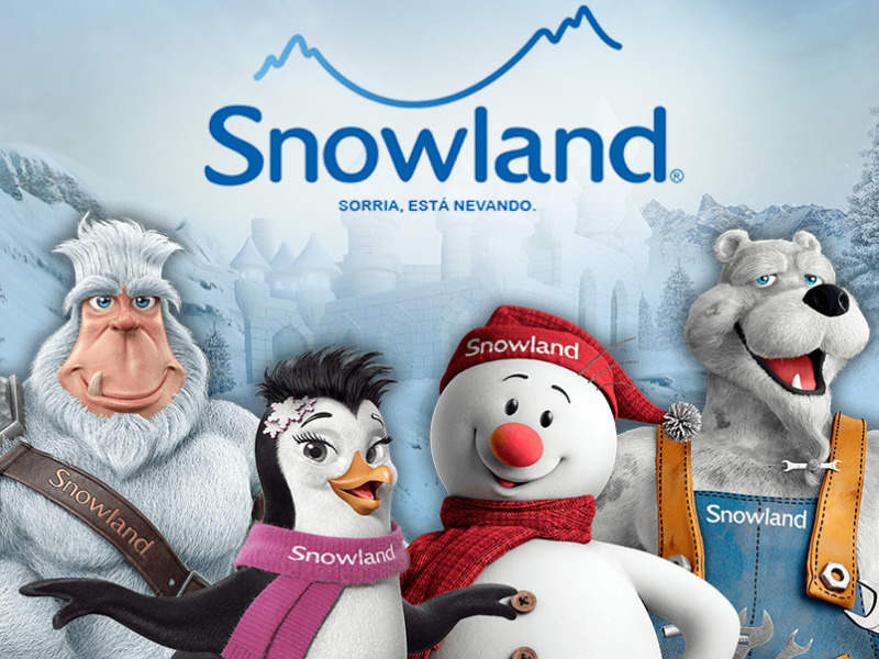 SNOWLAND TRANSPORTE IN-OUT COM INGRESSO